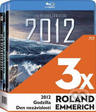 3x Roland Emmerich - 3 Blu-ray