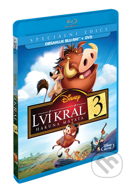 Lví král 3: Hakuna Matata - Blu-ray + DVD