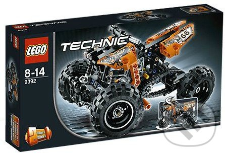 Lego technic 9392 - štvorkolka