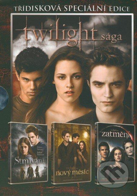 Twilight sága - Kolekce 3 DVD