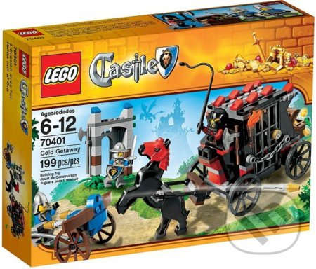 LEGO Castle 70401 Ulúpený zlatý poklad