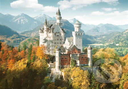 Zámok neuschwanstein nemecko