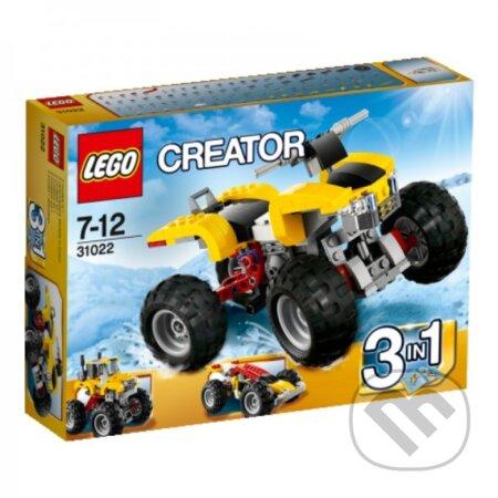 LEGO Creator 31022 Turbo štvorkolka