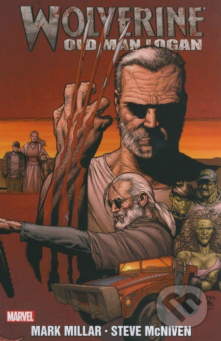 Old Man Logan by Mark Millar (2009, Hardcover)