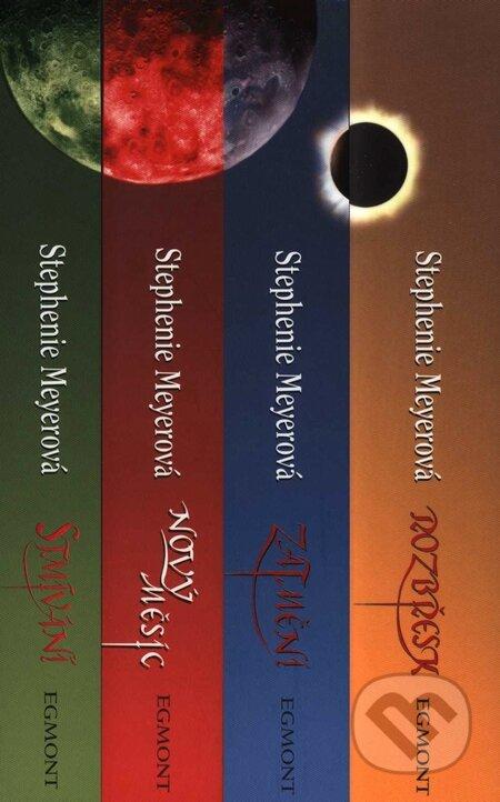 Twilight saga v ceskom jazyku (kolekcia) (stephenie meyerova)