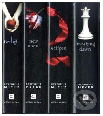 Twilight saga - anglicky jazyk (kolekcia) (stephenie meyer)