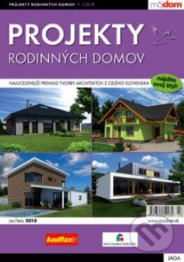 Projekty rodinných domov - jar / leto 2010