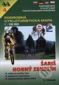 Šariš, Horný Zemplín 1:100 000 - cykloturistická mapa č. 4