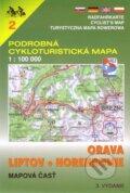 Orava, Liptov, Horehronie 1:100 000