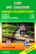 Tatry, Spiš, Zamagurie - cykloturistická mapa č. 3