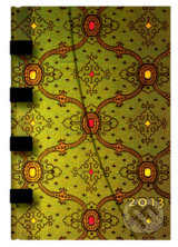 Paperblanks - diar 2013 - French Ornate Vert Mini