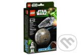 Конструкторы Lego Star Wars (Звездные войны) Республиканский боевой корабль и планета Корусант.