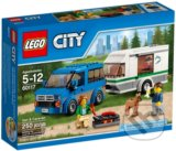 LEGO City Great Vehicles 60117 Dodávka a karavan